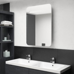 vidaXL Conjunto de muebles de baño 2 piezas cerámica blanco
