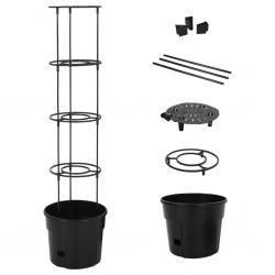 Draper Tools Armario y caja herramientas ruedas blanco 61,6x33x99,8cm
