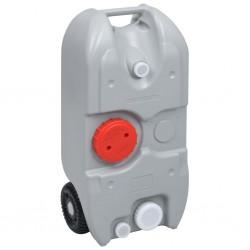 vidaXL Caja de almacenamiento de jardín marrón 109x67x65 cm