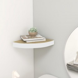 vidaXL Cartelera de exposición plegable 12 paneles blanco