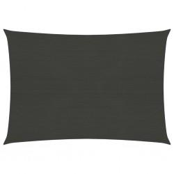 vidaXL Cenador de jardín con cortina lateral gris antracita 4x3x2,25 m