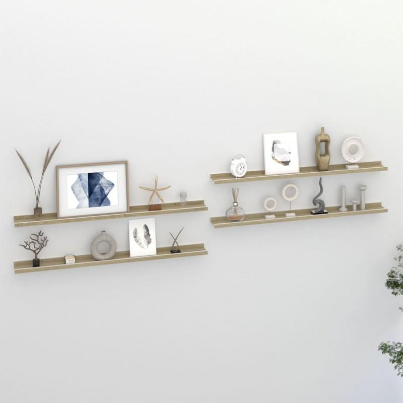 vidaXL Mesa de jardín con patas forma de U madera acacia 180x90x75 cm