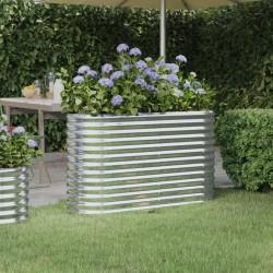 vidaXL Cenador de jardín gris antracita 3x3x2,9 m 180 g/m²