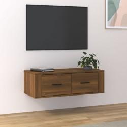 vidaXL Caja de almacenaje de madera maciza de pino 100x54x50,7 cm