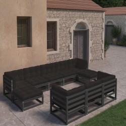 vidaXL Kit de estudio fotográfico con set de luces y telón de fondo