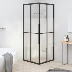 vidaXL Conectores de postes en forma de L 4 unidades metal 81x81 mm