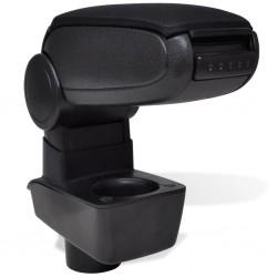 vidaXL Conectores de postes en forma de T 4 unidades metal 91x91 mm