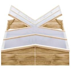 vidaXL Patas mesa plegables 6 uds acero galvanizado plata 45x55x112 cm