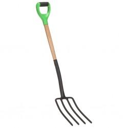 vidaXL Soporte para aparcar 2 bicicletas acero 48x33x27 cm