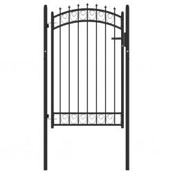 vidaXL Cenador con mosquitera gris antracita 4x3x2,73 m 180 g/m²