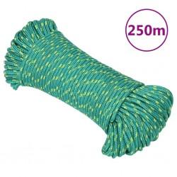 vidaXL Manguera de succión con conectores 4 m 22 mm negra