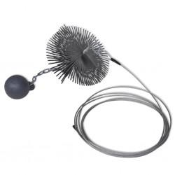 vidaXL Mesita de noche madera maciza de mango sin tratar 43x30x51 cm