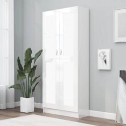vidaX Estantería de 6 niveles de madera maciza de roble 80x22,5x170 cm