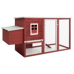 vidaXL Puerta de valla de acero y madera de abeto 107x125 cm