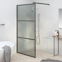 vidaXL Puerta de valla de acero y madera de abeto 408x150cm