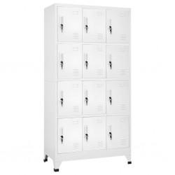 vidaXL Puerta de valla de acero y madera de abeto 413x125 cm
