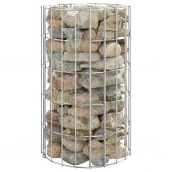 vidaXL Cantoneras de escalera forma de F 15 uds aluminio marrón 100 cm