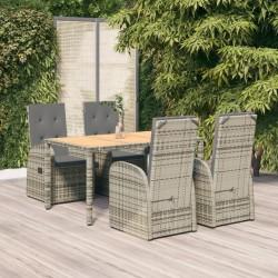 vidaXL Banco de piel de ante artificial marrón 148,5 cm