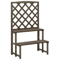 vidaXL Cajas de almacenaje con tapa 4 uds tela azul 32x32x32 cm