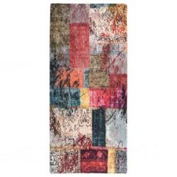 vidaXL Cajas de almacenaje con tapas 10 uds tela morado 32x32x32 cm