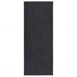 vidaXL Puerta de valla de acero y madera de abeto 413x225cm