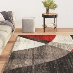 vidaXL Puerta de valla de acero y madera de abeto 513x175 cm