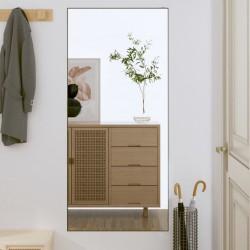 vidaXL Puerta de valla de acero y madera de abeto 513x200 cm