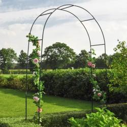 vidaXL Árbol de Navidad artificial con piñas y nieve blanca 240 cm