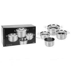 vidaXL Toallas de baño 5 uds algodón blanco 450 g/m² 100x150 cm