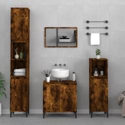 vidaXL Toallas de mano 5 uds algodón azul marino 450 g/m² 50x100 cm