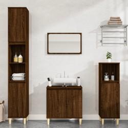 vidaXL Toallas de mano 2 uds algodón azul marino 450 g/m² 50x100 cm