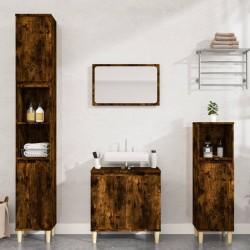 vidaXL Juego de toallas 12 piezas algodón blanco 450 g/m²