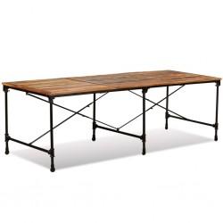 vidaXL 4 Tubos acero estructural cuadrados sección caja 2m 40x40x2mm