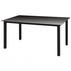 vidaXL Árbol de Navidad con nieve con base de paraguas PVC azul 75 cm