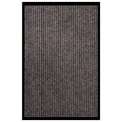 vidaXL Árbol de Navidad con nieve con base de paraguas PVC azul 170 cm
