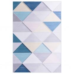 vidaXL Árbol de Navidad artificial emergente dorado PET 129 cm