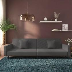 vidaXL Árbol de Navidad artificial plegable PET negro 180 cm