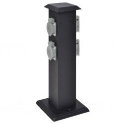 vidaXL Árbol de Navidad artificial plegable PET verde 180 cm