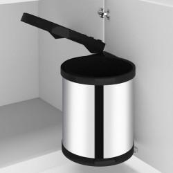 vidaXL Árbol de Navidad artificial con soporte rojo PVC 180 cm