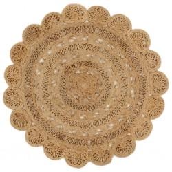 vidaXL Árbol de Navidad artificial con soporte dorado PET 180 cm