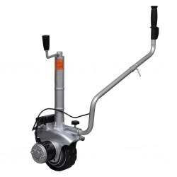 vidaXL Árbol de Navidad artificial con soporte plateado PET 180 cm