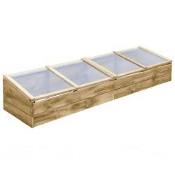 vidaXL Medio árbol de Navidad artificial con soporte PVC verde 150 cm