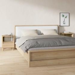 vidaXL Tabla de cortar de madera maciza de acacia 50x34x3,8 cm