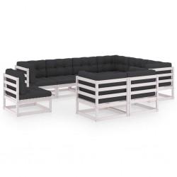 vidaXL Juego de tocador y taburete madera paulownia rosa 50x59x136 cm