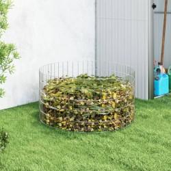 vidaXL Árbol de Navidad artificial de cuerda emergente LED verde 210cm