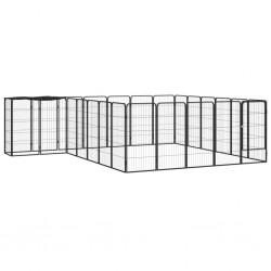 vidaXL Medio árbol de Navidad artificial con soporte verde PVC 120 cm