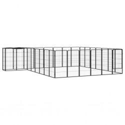 vidaXL Medio árbol de Navidad artificial con soporte verde PVC 180 cm