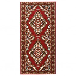 vidaXL Biombo divisor de 4 paneles marrón 160x180 cm