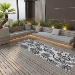 vidaXL Biombo divisor de 4 paneles blanco 160x180 cm