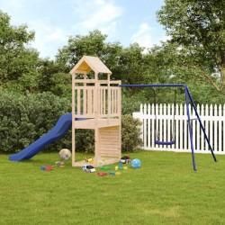 vidaXL Biombo divisor de 6 paneles blanco 240x180 cm